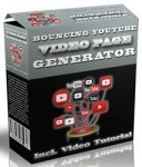 Bouncing You Tube Video Page Generator (Software)