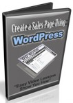 Sales Page Using WordPress (5 Videos)