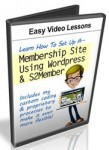 Membership Site WP S2member Custom Code (11 Videos)