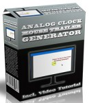 Analog Clock Mouse Trailer Generator (Software)