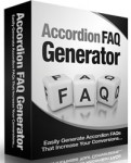 Accordion FAQ Generator Software