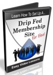 Setup A Drip Fed Membership Site