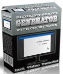 Redirect Script Generator With Countdown