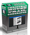 Christmas Mouse Trail Generator